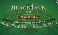 Blackjack Super 7s